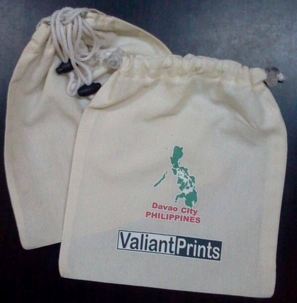 drawstring bags davao city – Valiant Prints